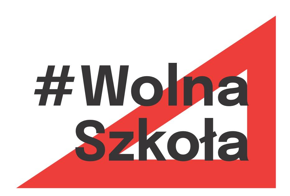 Logo #WolnaSzkoła